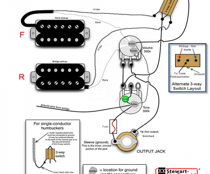 how to wire a 3 way toggle switch guitar electronics wiring schematics rh guitarbuilding, guitar wiring diagrams 1 humbucker 1 single coil guitar wiring How To Wire, Way Toggle Switch Guitar Best Electronics Wiring Schematics Rh Guitarbuilding, Guitar Wiring Diagrams 1 Humbucker 1 Single Coil Guitar Wiring Collections