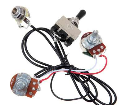 how to wire a 3 way toggle switch guitar guitar wiring harness prewired, pickup 500k pots 3, toggle rh ebay, 3-Way Toggle Switch Guitar Wiring Three-, Switch Guitar How To Wire, Way Toggle Switch Guitar Brilliant Guitar Wiring Harness Prewired, Pickup 500K Pots 3, Toggle Rh Ebay, 3-Way Toggle Switch Guitar Wiring Three-, Switch Guitar Images