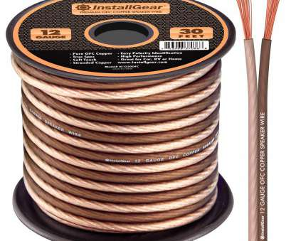 identify speaker wire gauge Amazon.com: InstallGear 12 Gauge Speaker Wire, 99.9% Oxygen-Free Copper, True Spec, Soft Touch Cable (30-feet): Cell Phones & Accessories 15 Professional Identify Speaker Wire Gauge Collections