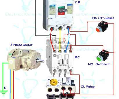 Iec Starter Wiring Diagram Professional Iec Contactor Wiring ... on
