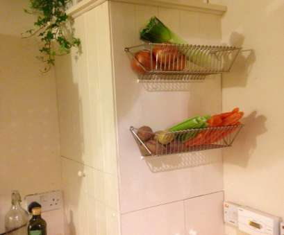 Ikea Wire Basket Storage Table Top Fintorp Dish Drainer Becomes Wall Fruit Basket, IKEA Hackers Photos
