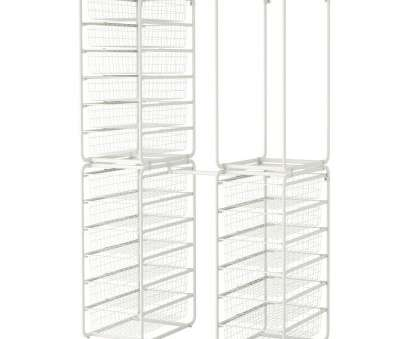 ikea wire shelf basket Freestanding closet system ALGOT Frame w rod/wire baskets/top shelf, IKEA Ikea Wire Shelf Basket Simple Freestanding Closet System ALGOT Frame W Rod/Wire Baskets/Top Shelf, IKEA Solutions