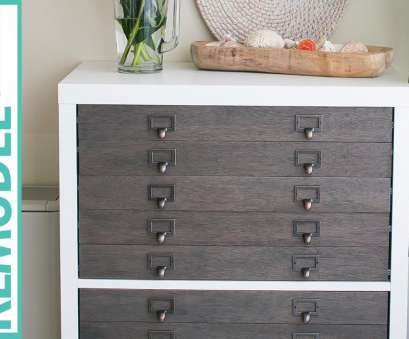 ikea wire shelving canada IKEA Hack Kallax Shelf to Flat File Cabinet + Drawers Ikea Wire Shelving Canada Perfect IKEA Hack Kallax Shelf To Flat File Cabinet + Drawers Ideas