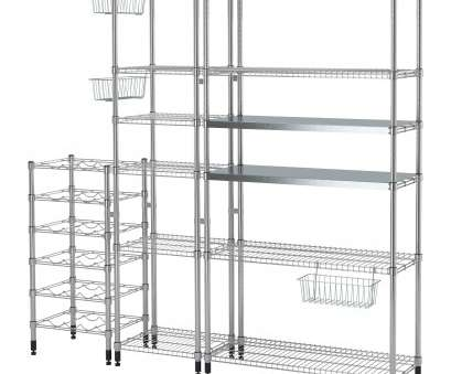 ikea wire shelving omar OMAR 3 shelf sections Ikea Wire Shelving Omar Brilliant OMAR 3 Shelf Sections Pictures