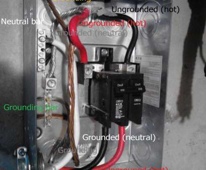in electrical which wire is hot electrical, What is wrong with this panel wiring?, Home 19 Cleaver In Electrical Which Wire Is Hot Images