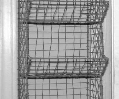 industrial wire mesh storage baskets Glory & Grace Rustic Industrial Wall Mount General Store Multi-Basket Rack Industrial Wire Mesh Storage Baskets Cleaver Glory & Grace Rustic Industrial Wall Mount General Store Multi-Basket Rack Images
