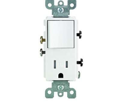install a switch outlet combo ... Leviton Decora 15, Tamper Resistant Combo Switch, Outlet Magnificent Combination Wiring Install A Switch Outlet Combo Perfect ... Leviton Decora 15, Tamper Resistant Combo Switch, Outlet Magnificent Combination Wiring Images