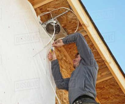 install light fixture electrician Electrician Installing Light Fixtures On House stock photo Install Light Fixture Electrician Simple Electrician Installing Light Fixtures On House Stock Photo Images