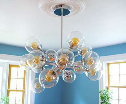 install light fixture medallion Finally! A Chandelier!, How to Install a Ceiling Medallion 11 Practical Install Light Fixture Medallion Collections