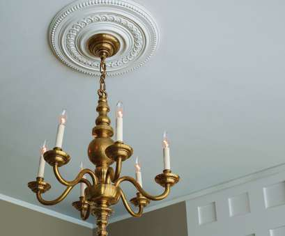Install Light Fixture Medallion Creative How To Install A Ceiling Medallion,, Interior, Pinterest Galleries