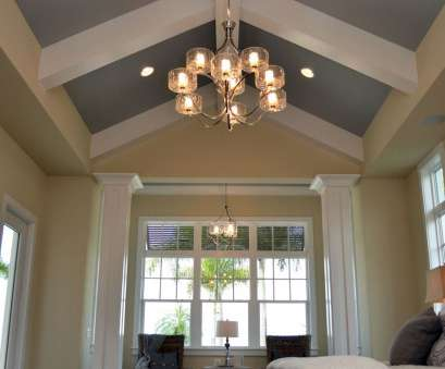 install light fixture vaulted ceiling While high ceilings, architecturally appealing, they present challenges, installing light fixtures, so Install Light Fixture Vaulted Ceiling Creative While High Ceilings, Architecturally Appealing, They Present Challenges, Installing Light Fixtures, So Images