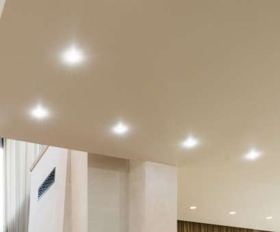 install recessed lights first floor 2