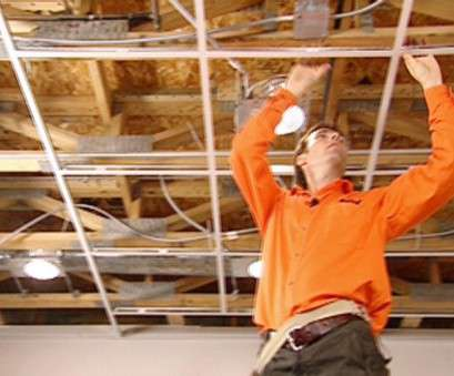 install recessed lights first floor How to Install an Acoustic Drop Ceiling, how-tos, DIY Install Recessed Lights First Floor Brilliant How To Install An Acoustic Drop Ceiling, How-Tos, DIY Galleries