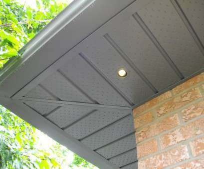 Install Recessed Lights In Outdoor Soffit Nice Exterior, Soffit Lighting Fixtures, Outdoor Living, Pinterest Galleries