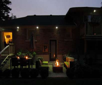 Install Recessed Lights In Outdoor Soffit New Toronto Eavestroughing:, Recessed Soffit Lighting/Potlights Solutions
