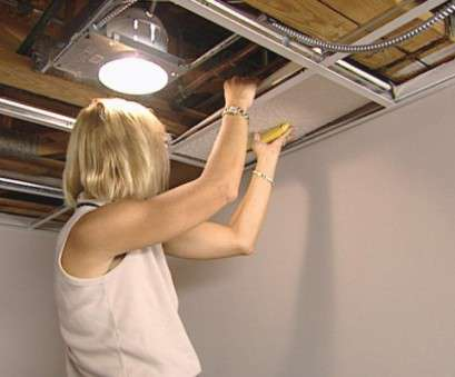 installing a light fixture in a drop ceiling How to Install an Acoustic Drop Ceiling, how-tos, DIY Installing A Light Fixture In A Drop Ceiling Simple How To Install An Acoustic Drop Ceiling, How-Tos, DIY Photos