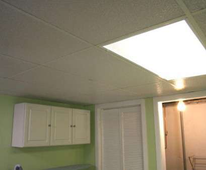 installing a light fixture in a drop ceiling Installing a Drop Ceiling in a Basement Laundry, HGTV Installing A Light Fixture In A Drop Ceiling Practical Installing A Drop Ceiling In A Basement Laundry, HGTV Images