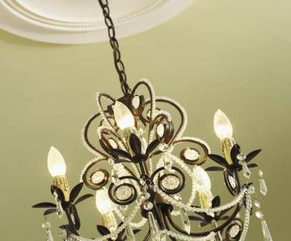 installing a light fixture in ceiling How to Install a Decorative Ceiling Medallion, HGTV Installing A Light Fixture In Ceiling Simple How To Install A Decorative Ceiling Medallion, HGTV Pictures