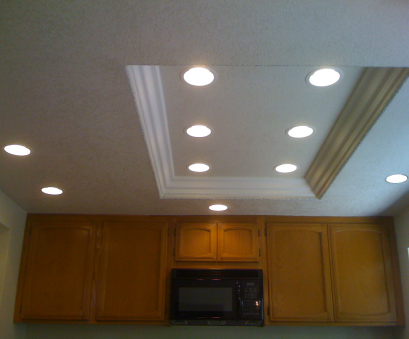 installing recessed fluorescent lighting Good idea, replacing fluorescent light with recessed lighting in a, kitchen ceiling 12 Brilliant Installing Recessed Fluorescent Lighting Galleries