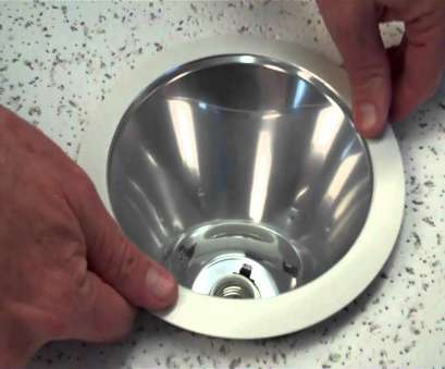installing recessed lighting baffle trim How to install a 6