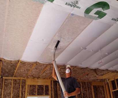 installing recessed lighting with blown insulation Insulation being blown in, garage Installing Recessed Lighting With Blown Insulation New Insulation Being Blown In, Garage Solutions