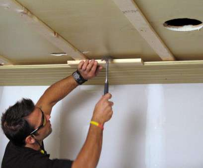 installing recessed lighting wood ceiling How to Install a Tongue-and-Groove Plank Ceiling, how-tos, DIY Installing Recessed Lighting Wood Ceiling Simple How To Install A Tongue-And-Groove Plank Ceiling, How-Tos, DIY Solutions