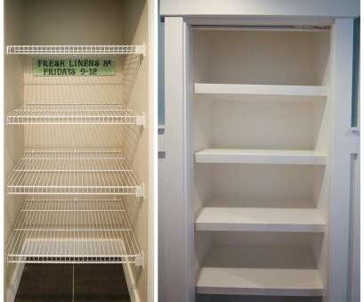installing wire shelving in pantry How to Replace Wire Shelves with, Custom Wood Shelves,, Happy Housie Installing Wire Shelving In Pantry Creative How To Replace Wire Shelves With, Custom Wood Shelves,, Happy Housie Solutions