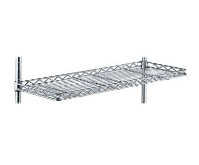 intermetro wire shelving accessories InterMetro 24 Inch Cantilever Wire Shelf, Chrome Image 12 Nice Intermetro Wire Shelving Accessories Solutions