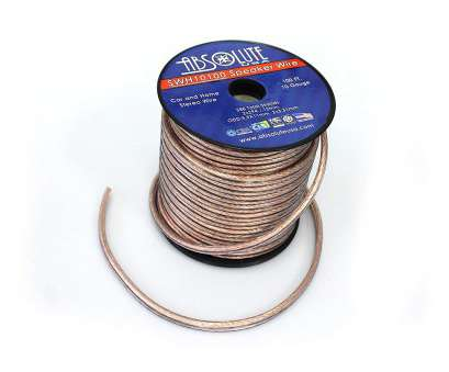 is 10 gauge speaker wire good Amazon.com: Absolute, SWH10100 10 Gauge, Home Audio Speaker Wire Cable Spool 100':, Electronics Is 10 Gauge Speaker Wire Good Perfect Amazon.Com: Absolute, SWH10100 10 Gauge, Home Audio Speaker Wire Cable Spool 100':, Electronics Ideas