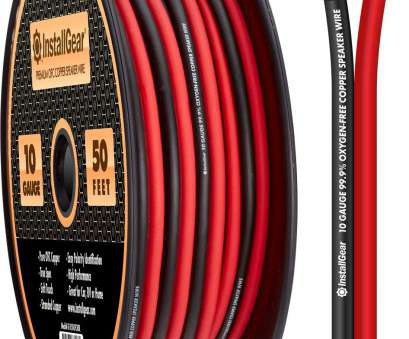 is 10 gauge speaker wire good Amazon.com: InstallGear 10 Gauge Speaker Wire, 99.9% Oxygen-Free Copper (OFC), Red/Black (50-Feet): Home Audio & Theater Is 10 Gauge Speaker Wire Good Professional Amazon.Com: InstallGear 10 Gauge Speaker Wire, 99.9% Oxygen-Free Copper (OFC), Red/Black (50-Feet): Home Audio & Theater Photos