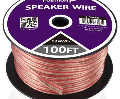 is 12 gauge speaker wire overkill Amazon.com: Fosmon, Gauge, 100ft] 12AWG Copper-Clad Aluminum (CCA) Speaker Wire with, Polarity Mark: Musical Instruments 9 Best Is 12 Gauge Speaker Wire Overkill Collections