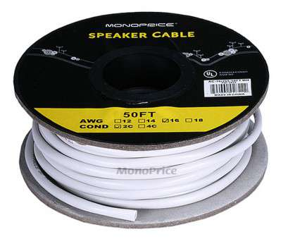 is 12 gauge speaker wire overkill Monoprice Access Series 16AWG, Rated 2-Conductor Speaker Wire, 50ft-Small Is 12 Gauge Speaker Wire Overkill Popular Monoprice Access Series 16AWG, Rated 2-Conductor Speaker Wire, 50Ft-Small Solutions