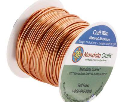 is 22 gauge wire thick Amazon.com: Mandala Crafts 12 14 16 18 20 22 Gauge Anodized Jewelry Making Beading Floral Colored Aluminum Craft Wire, Gauge, Copper) Is 22 Gauge Wire Thick Fantastic Amazon.Com: Mandala Crafts 12 14 16 18 20 22 Gauge Anodized Jewelry Making Beading Floral Colored Aluminum Craft Wire, Gauge, Copper) Pictures