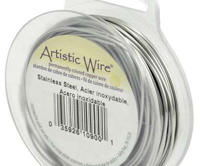 is 22 gauge wire thick Artistic Wire 20-Gauge, Stainless Steel, 15-Yard Is 22 Gauge Wire Thick Fantastic Artistic Wire 20-Gauge, Stainless Steel, 15-Yard Photos
