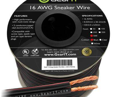 is 24 gauge speaker wire ok Amazon.com: 16AWG Speaker Wire, GearIT, Series 16 Gauge Speaker Wire Cable (500 Feet / 152.4 Meters) Great, for Home Theater Speakers, Car Speakers 19 Popular Is 24 Gauge Speaker Wire Ok Galleries