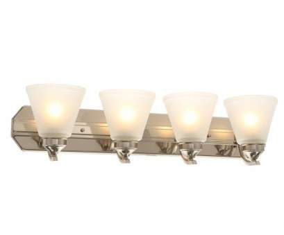 is changing a light fixture difficulty Hampton, 4-Light Brushed Nickel Vanity Light with Frosted Shades Is Changing A Light Fixture Difficulty Practical Hampton, 4-Light Brushed Nickel Vanity Light With Frosted Shades Galleries