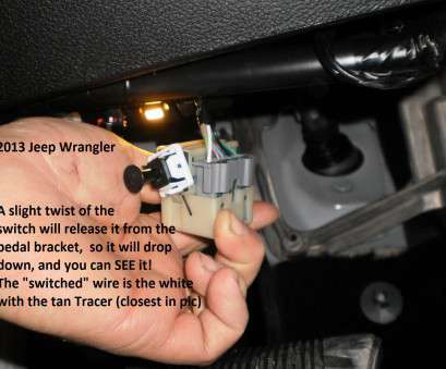 jeep yj brake light switch wiring popular 2013 jeep wrangler truck  brake controller installation instructions solutions