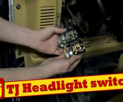 jeep yj light switch wiring How to replace, headlight switch on a Jeep TJ Jeep Yj Light Switch Wiring Simple How To Replace, Headlight Switch On A Jeep TJ Solutions