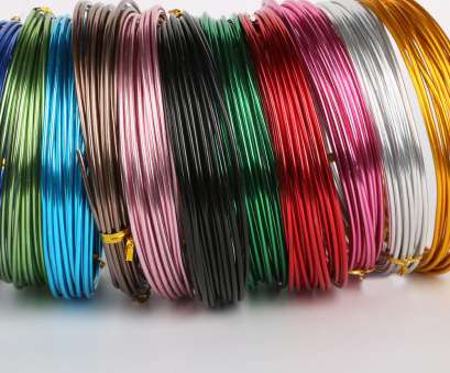 jewelry wire gauge diameter High Quality 5Meters/Roll Multi color 1.5mm(15 gauge) Diameter colored aluminum wire, Jewelry Jewelry Wire Gauge Diameter Practical High Quality 5Meters/Roll Multi Color 1.5Mm(15 Gauge) Diameter Colored Aluminum Wire, Jewelry Galleries