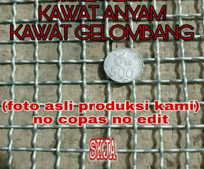 jual wire mesh stainless steel di jakarta KAWAT, ANYAMAN GELOMBANG WIRE MESH STAINLESS/GALVANIS Jual Wire Mesh Stainless Steel Di Jakarta Most KAWAT, ANYAMAN GELOMBANG WIRE MESH STAINLESS/GALVANIS Collections