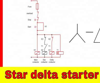 jyoti starter wiring diagram Star-delta starter control, power circuit diagram Jyoti Starter Wiring Diagram Professional Star-Delta Starter Control, Power Circuit Diagram Collections