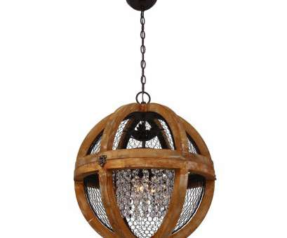 kennedy wood and wire pendant light Shop Farmhouse Antique Brown 3-Light Wood Crystal 18-inch, Chandelier, Free Shipping Today, Overstock.com, 19554784 Kennedy Wood, Wire Pendant Light Brilliant Shop Farmhouse Antique Brown 3-Light Wood Crystal 18-Inch, Chandelier, Free Shipping Today, Overstock.Com, 19554784 Images
