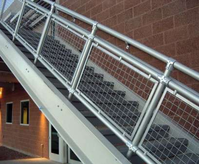 kent woven wire mesh woven wire metal railings exterior,, Wall Along With Metal Outdoor Staircase Handrail, Metal Railing Kent Woven Wire Mesh Popular Woven Wire Metal Railings Exterior,, Wall Along With Metal Outdoor Staircase Handrail, Metal Railing Images