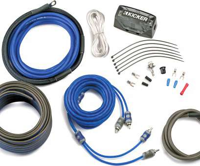 kicker 8 gauge wire KICKER, Complete 8-Gauge Amplifier Wiring, -, Install 9 Top Kicker 8 Gauge Wire Solutions