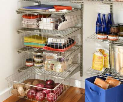 kitchen pantry wire shelving If you're redoing your pantry, choose wire shelving, drawer bins, like Kitchen Pantry Wire Shelving Brilliant If You'Re Redoing Your Pantry, Choose Wire Shelving, Drawer Bins, Like Ideas