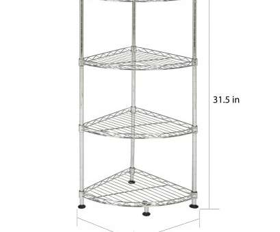 kitchen wire corner shelf Shop Safavieh Storage Collection Damaris 4-Tier Chrome Wire Corner Rack, On Sale, Free Shipping On Orders Over,, Overstock.com, 11769095 Kitchen Wire Corner Shelf Most Shop Safavieh Storage Collection Damaris 4-Tier Chrome Wire Corner Rack, On Sale, Free Shipping On Orders Over,, Overstock.Com, 11769095 Pictures