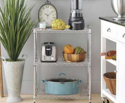 kitchen wire shelving accessories Details about 3 Tier 34x24x14