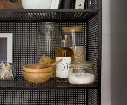 kitchen wire shelving accessories How To Style Wire Shelves In Your Kitchen, 15 Everyday Open Shelf Essentials Kitchen Wire Shelving Accessories Fantastic How To Style Wire Shelves In Your Kitchen, 15 Everyday Open Shelf Essentials Collections