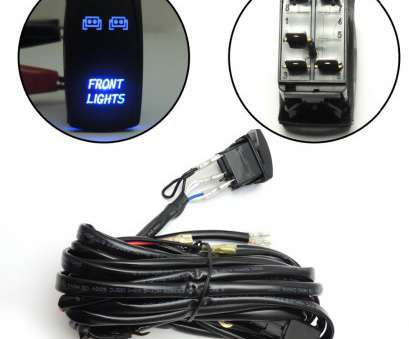 led light switch wiring Blue, Lights, Laser Front Rocker Switch Wiring Harness, relay, For Polaris, For, am Commander Maverick utv-in, Parts & Accessories from Led Light Switch Wiring Professional Blue, Lights, Laser Front Rocker Switch Wiring Harness, Relay, For Polaris, For, Am Commander Maverick Utv-In, Parts & Accessories From Galleries