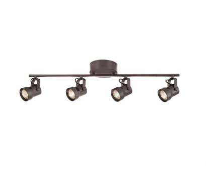led wire track lighting kits 4-Light Bronze, Dimmable Fixed Track Lighting, with Straight, Metal Shade Led Wire Track Lighting Kits Simple 4-Light Bronze, Dimmable Fixed Track Lighting, With Straight, Metal Shade Pictures